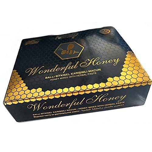 Miel 100% natural de Asia que aumenta la testosterona, la energía y la resistencia para hombre (6 stick).