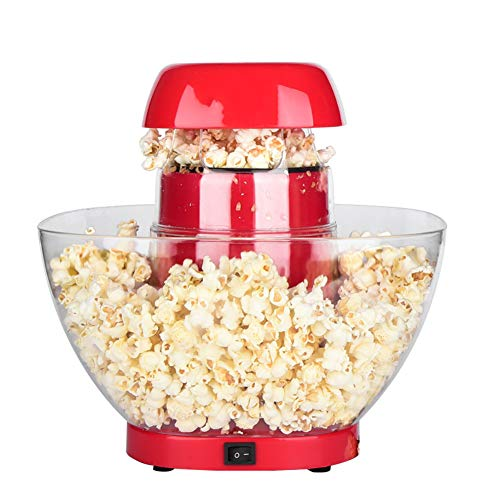 Find Discount LAHappy Popcorn Maker Machine Electric Hot Air Popcorn Maker Wide Mouth Design No Oil ...