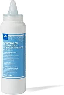Medline MDS092005 Latex Free Blue Ultrasound Gel, 8.5 oz Squeeze Bottles, Blue (Pack of 12)