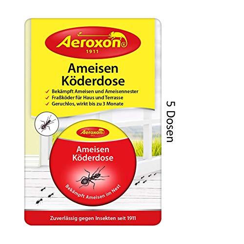 AEROXON Trappola per esche per formiche 5 pacchetti