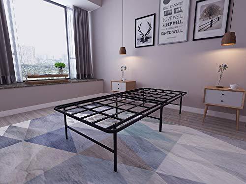 Homdock 16 Inch Metal Platform Bed Frame
