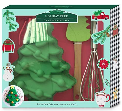 Handstand Kitchen - Juego de 3 piezas para hornear tartas con recetas para niños