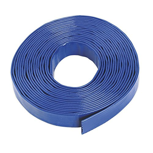 Sealey LFH1025 Tubo in PVC di alta qualità rinforzato con fibre sintetiche, 25 mm x 10 m