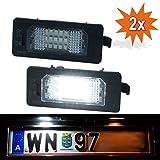 Do!LED 135X LED Kennzeichenbeleuchtung Xenon Weiss mit E-Prüfzeichen