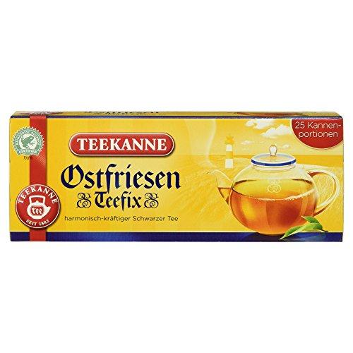 Teekanne Ostfriesen Teefix 70g 25 Beutel