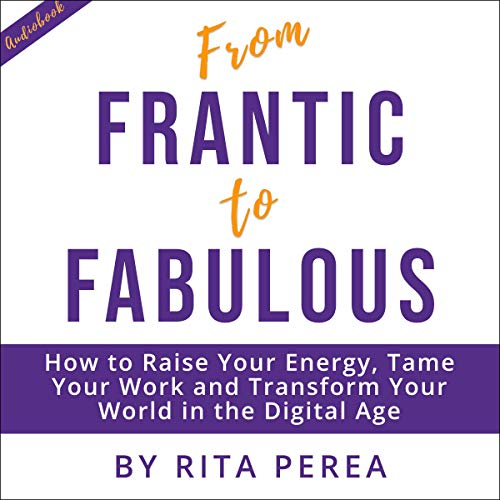 From Frantic to Fabulous: How to Raise your Energy, Tame Your Work and Transform Your World in the Digital Age audiobook cover art