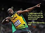 by zolto poster I Just Imagine. Usain Bolt 's Motivational