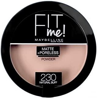 Maybelline Fit Me Matte+ Poreless Powder, 230 Natural Buff