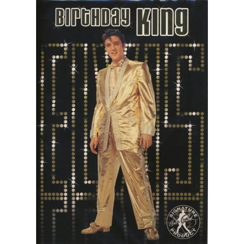Elvis King Sound Greeting Card