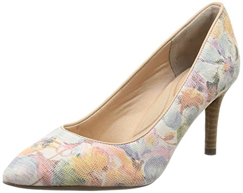 Rockport Damen Total Motion 75mm Pointy Toe Plain Pump Pumps, Mehrfarbig (Multi Floral 001), 35.5 EU