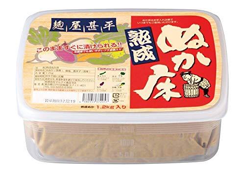 マルアイ食品『麹屋甚平 熟成ぬか床』