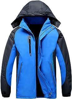 メンズスキージャケット、耐雪性レインコート、暖かい、Snowskirt、フリース裏地冬のセーター、スキー休暇のための服