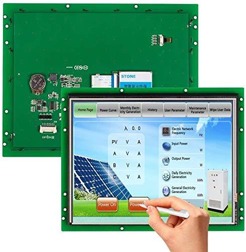 SCBRHMI 10,4 Zoll Smart HMI Touchpanel, TFT LCD Bildschirm mit HMI Programmierung und Touch-Steuerung, Panel mit RS232/RS485/TTL Port