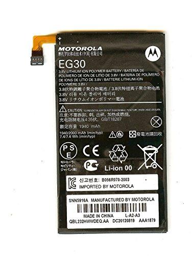 Motorola Electrify (XT901), RAZR i (XT890), RAZR M (XT902, XT905) Akku, Battery, Li-Ion Polymer, 2000 mAh, EG30