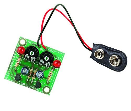 VELLEMAN - MK102 Minikits blinkenden LEDs, grün 840011