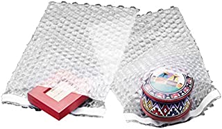 100 6x8.5 Clear Self-Sealing Bubble Out Bag Pouches from The Boxery