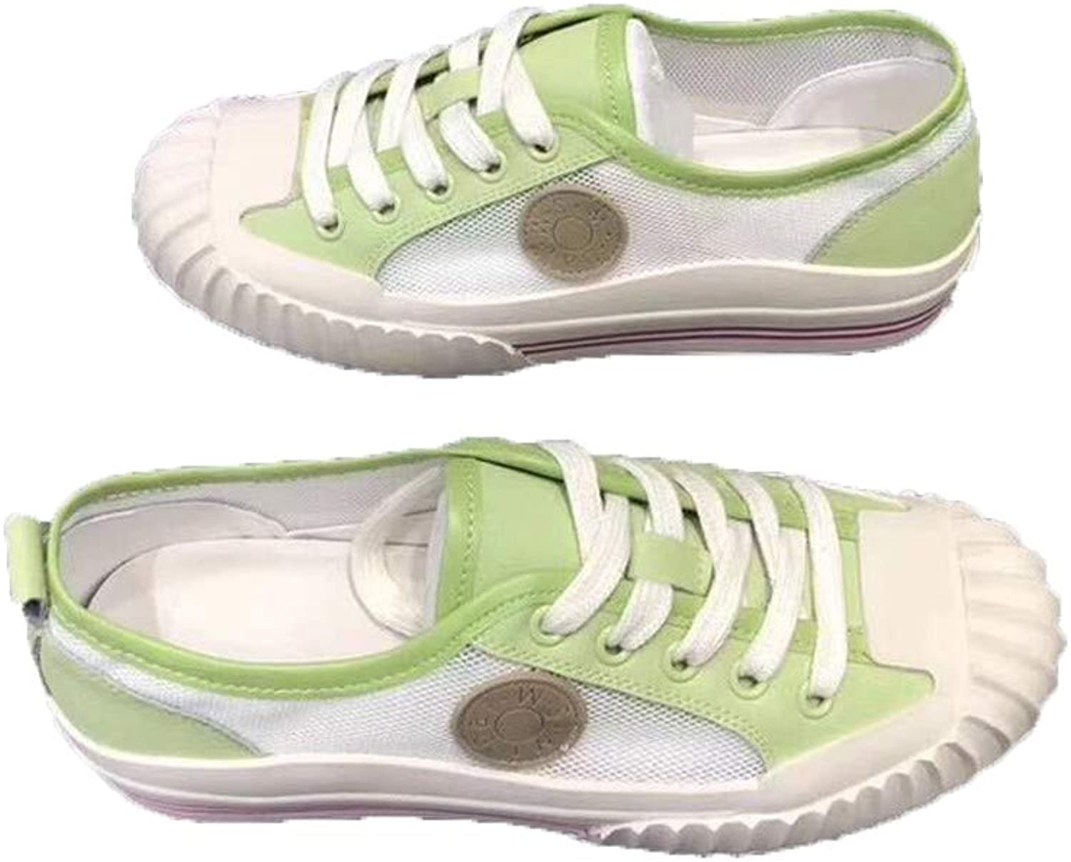 KRWTY Women's Canvas shoes Lacing Sneakers Walking shoes Lacing Party shoes