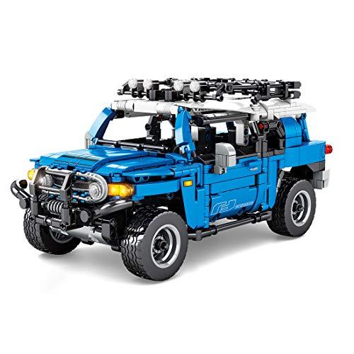 ColiCor Technic Off Road modelo de coche 999 piezas 4x4 Off-Road Kit de construcción para Land Rover Defender, bloques de construcción compatibles con Lego Technic