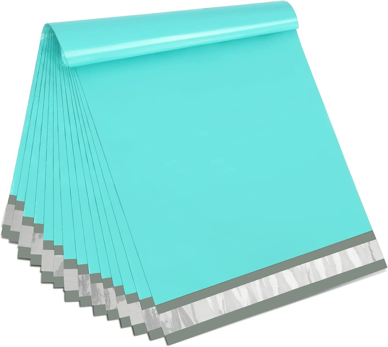 TOMVYTER safety 100PC Poly Mailers 12x16 Inch Great interest Mailing Envelopes Teal Ba