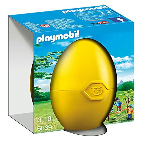 PLAYMOBIL Huevos- Tightrope Walker Figura con Accesorios, Multicolor (6839)