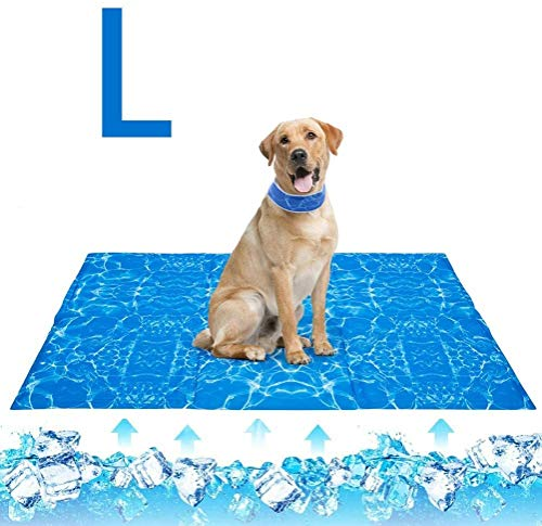 Tappetino di raffreddamento per cani,Tappetino refrigerante rinfrescante per cane gatto, sicuro e non tossico