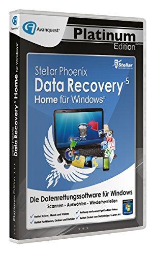 Preisvergleich Produktbild Stellar Phoenix Data Recovery 5 Win - Home - Avanquest Platinum Edition