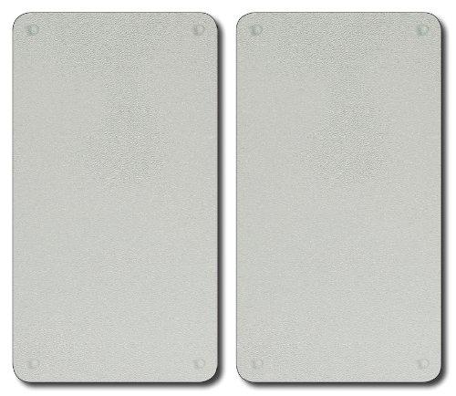 KESPER 35522 Planche à découper en Verre Set de 2, Multicolore, 15 cm