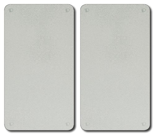 Kesper 3552213 glazen multi-snijplank, 52 x 30 x 0,8 cm (voeten 0,3 cm), TÜV-GS getest