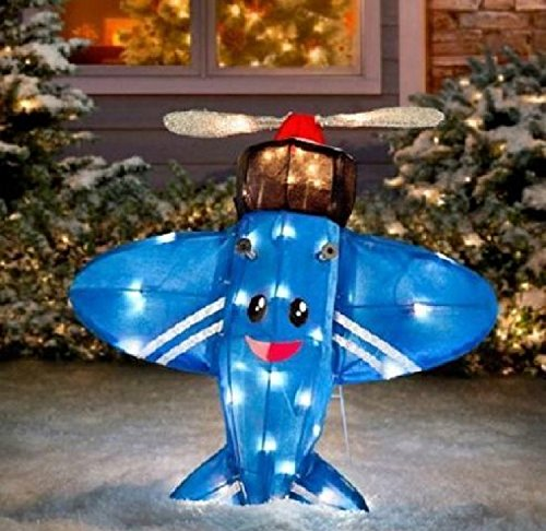 ProductWorks Rudolph the Red Nosed Reindeer Island of Misfit Toys Misfit Plane that Could Not Fly