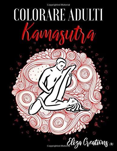 Colorare Adulti Kamasutra: Libro Mandala Antistress | kamasutra libro da colorare | Disegni da Colorare Graziosi per Rilassarsi