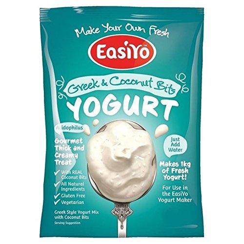 EasiYo Griechische und Kokosnuss Yogurt Mix 240 g (2 Stück)