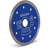 Disco de corte de diamante, 125 mm de diámetro, 22,2 mm de grosor, para amoladora angular y de corte para azulejos, cerámica y piedra natural