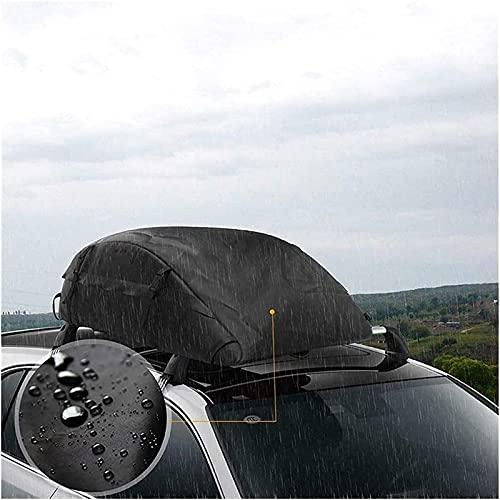 Caja de Techo de automóviles, Soporte de Techo, vehículo a Prueba de Agua, Bolsa de Techo Plegable para Transporte de Viajes y Equipaje.