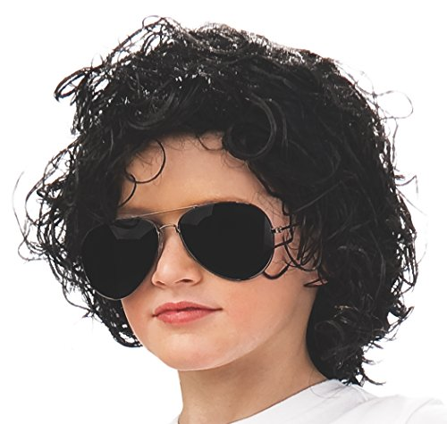 Rubie's Michael Jackson Curly Children's Costume Wig