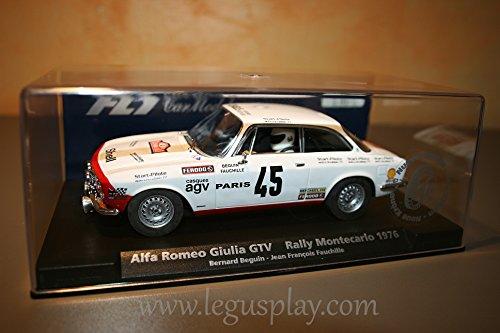 FLy - Scalextric Slot 88133 Compatible Alfa Romeo Giulia GTV Rallye Montecarlo 1976 A-803