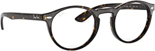 Ray-Ban RX5283 2012 Unisex Round Optical Eyeglasses RX - able Frame, 49mm