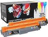 Prestige Cartridge TN241 - Paquete de 2 tóneres de tinta para Brother, negro