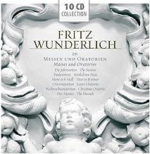 Masses and Oratorios - Haydn, J.S. Bach, Handel by Fritz Wunderlich (2012-10-26)