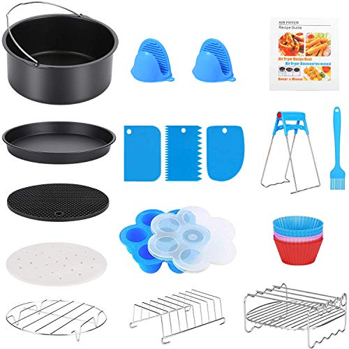 16 Pcs Air Fryer Accessories
