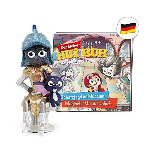 tonies Hörfiguren für Toniebox Figur Der kleine HUI BUH - Schatzjagd im Museum und Magische Meisterschaft - ca. 69 Min - ab 3 Jahre - DEUTSCH