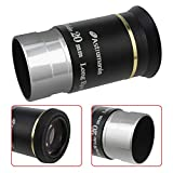 Astromania 1.25' 20mm 66-Degree Ultra Wide Angle Eyepiece for Telescope