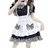 BIBOKAOKE Disfraz de mujer de la Sirena, disfraz de niña de casa, manga corta, disfraz de cosplay, vestido sexy Lolita