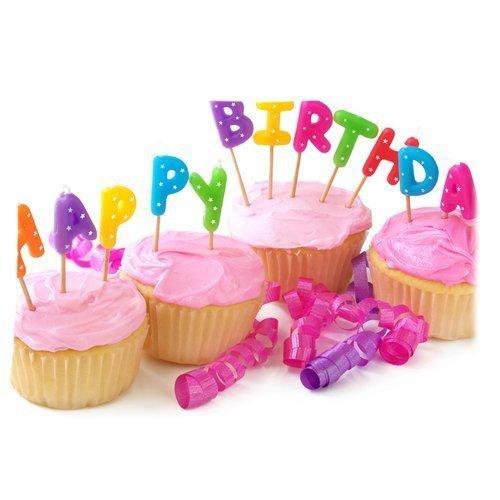 Vos Gâteaux d'anniversaire Inscription Happy Birthday Funny Housse d'oreiller zippée 50,8 x 76,2 cm