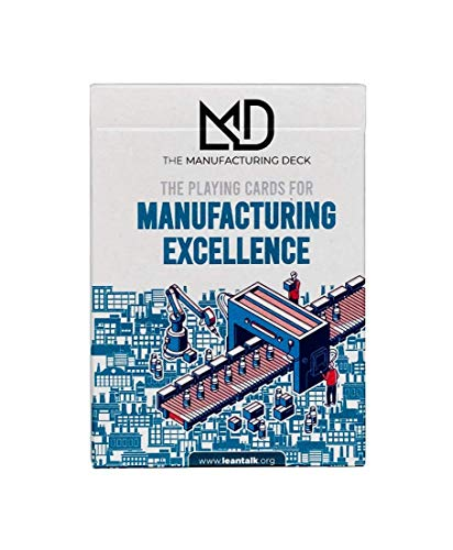 The Manufacturing Deck - Lean Playing Cards - Operational Excellence - Lean Simulation - Lean Spielkarten (Englisch) - Management Pocket Cards for Lean Manufacturing