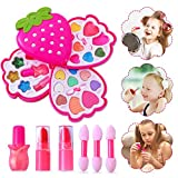 Ulikey Kinderschminke Set, Waschbar Schminkset Spielzeug, Mädchen Kosmetiktasche Makeup Rollenspiel...