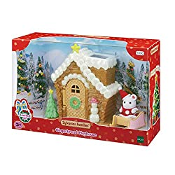 Seasonal product The Gingerbread Playhouse comes with one baby figure dressed as Santa, who can ride the sleigh The included Baby Santa can also go down the Gingerbread Playhouse chimney Stimulates imaginative role-playing by children Suitable for ag...
