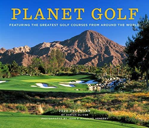 Planet Golf 2020 Wall Calendar product image