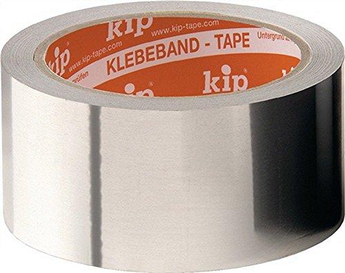 KIP Aluminiumklebenband DIN 4102 B1 Länge 50m Breite 50mm Alu-Folie