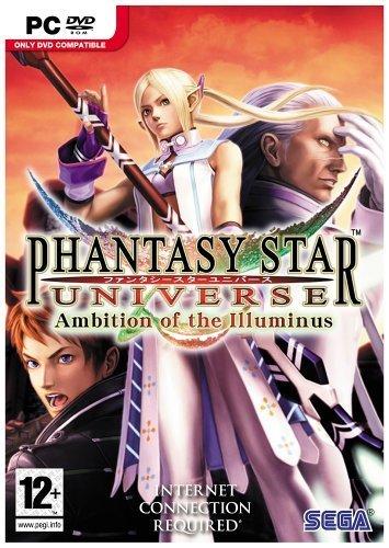 Phantasy Star Universe: Ambition of The Illuminus (PC DVD) [Importación inglesa]