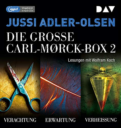 Die große Carl-Morck-Box 2: Ungekürzte Lesungen mit Wolfram Koch (6 mp3-CDs) (Carl-Mørck-Reihe)